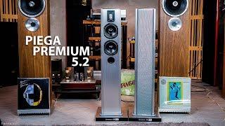 Trên tay dàn loa Piega Premium 5.2