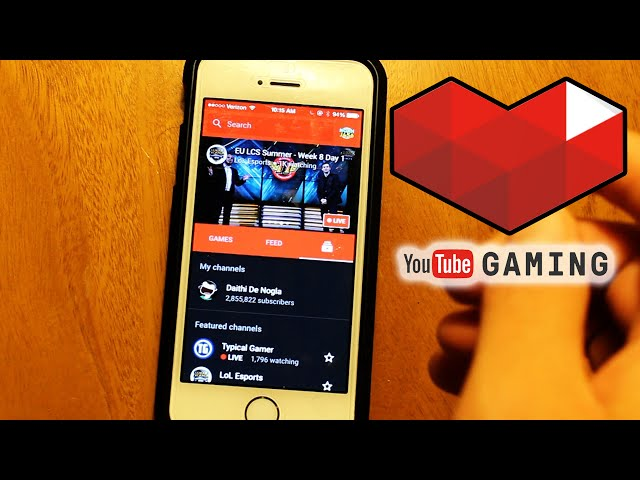 YouTube Gaming APP + WEBSITE REVIEW & FEATURES SHOWCASE! (YouTube Gaming Live)