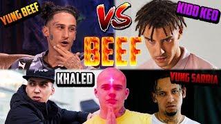 Yung Beef y Khaled vs Kidd Keo y Yung Sarria - Beef explicado
