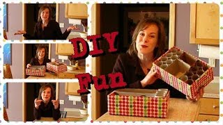 Diy Shoe Box Organizers