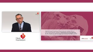 Webcast: Australian clinical guidelines for the diagnosis and management of atrial fibrillation