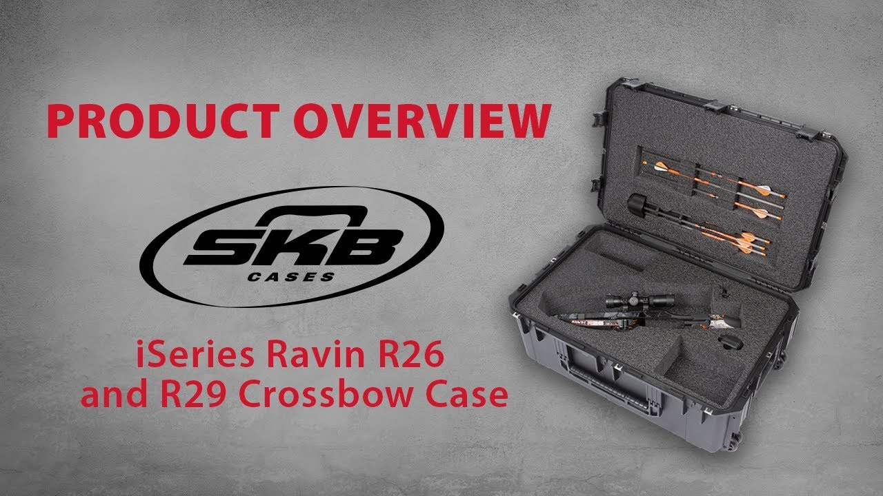 SKB iSeries Ravin R26 and R29 Crossbow Case