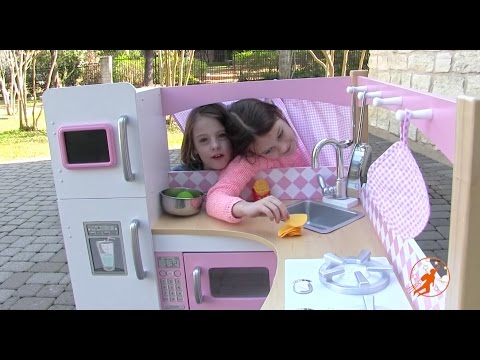 Thumbnail: Kidkraft Grand Gourmet Corner Kids Toy Kitchen - Unboxing,Review and Pretend Cooking