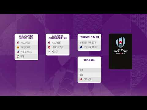 The Asia route to Rugby World Cup 2019