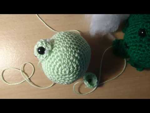 Knit Relief - Crochet Kermit the Frog Toy made ... | 360x480