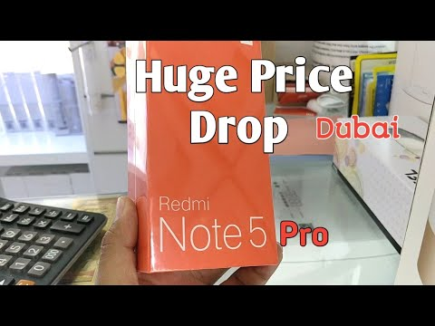 Redmi Note 5 (Pro) Price Drop in Dubai
