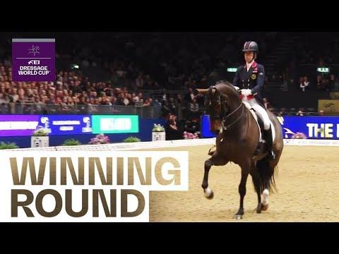 Charlotte Dujardin's winning performance in London | FEI Dressage World Cup™