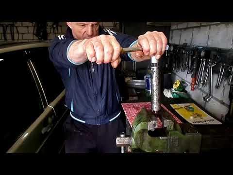 мерс 190 ом601 замена распылителей форсунок, замер компрессии