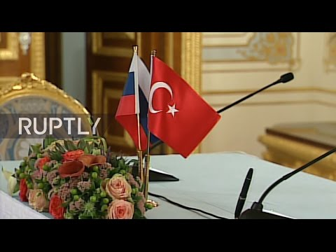 LIVE: Putin and Erdogan meet on sidelines of WEC in Istanbul