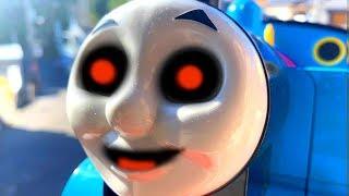 【おばけ電車】きかんしゃトーマス ハプニング!電車 新幹線 おもちゃ Thomas&Friend Ghost train Milky Kids Toy