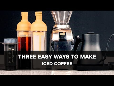 3 Easy Ways To Make Iced Coffee