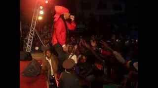 ZIMDANCEHALL Ghetto vs Ghetto Clash at Harare City Sports Centre 2013 part 1