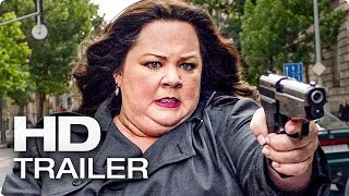 SPY Trailer German Deutsch (2015)