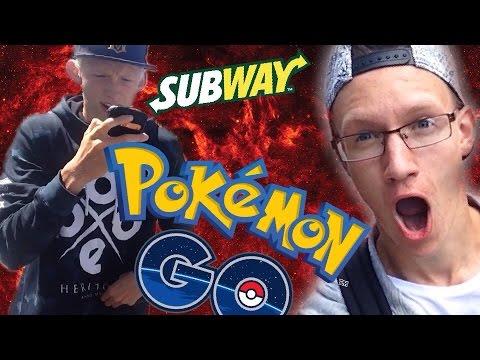 POKÉMON GO AT SUBWAY!!? - Vlog #5