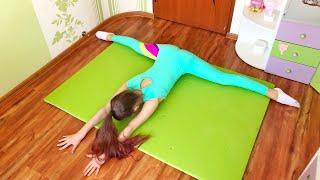 РАСТЯЖКА 🤸♂️ тренировка дома @Nastiona Zhuk