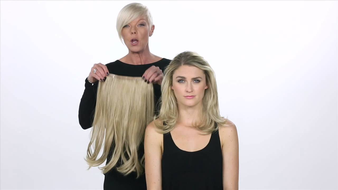 Luxhair How Tabatha Coffey 10 Inch Circle Extension Youtube