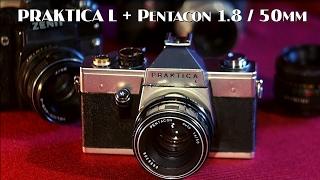Огляд Praktica L + Pentacon 1.8 / 50 mm (Практика Л + Пентакон 1.8)