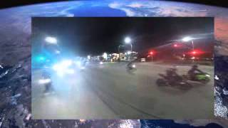 Police CHASE Motorcycles Running From COPS Helicopter