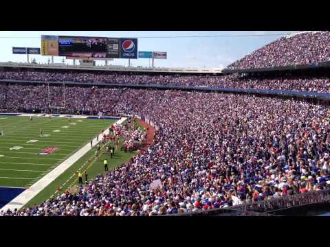 Shout!  Buffalo Bills chant at The Ralph - Home Opener 9/16/12