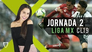 Resumen Goles Jornada 2 - Liga MX Clausura 2019 - FUTBOL MX