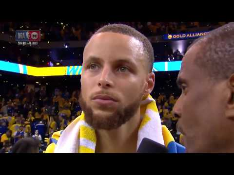 Stephen Curry Postgame Interview | Rockets vs Warriors Game 3 | May 20, 2018