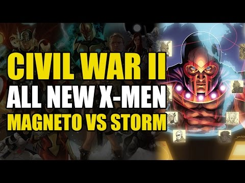 X-Men vs X-Men (Civil War 2: X-Men)