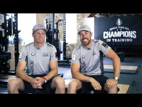 America's Cup: Get To Know Oracle Team's Kinley Fowler & Sam Newton