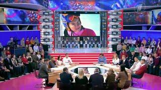 """Мария Комиссарова в программе """"Сегодня вечером"""" на Первом канале"""