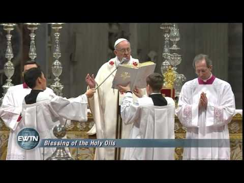 Chrism Mass for Rome with Pope Francis -  2013-03-28