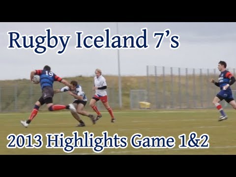 Highlights Sept 2013 First Two Games Iceland Rugby 7's