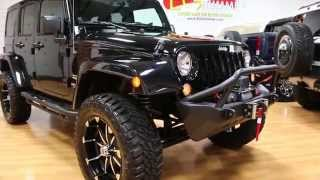 "2014 Jeep Wrangler Sahara 4x4 For Sale~4"" Lift~12,000 Miles~BIG $$$ INVESTED!"