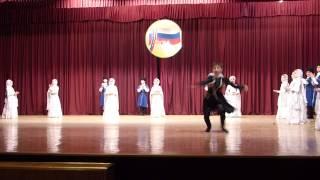 Детский танцевальный ансамбль. Грозный.