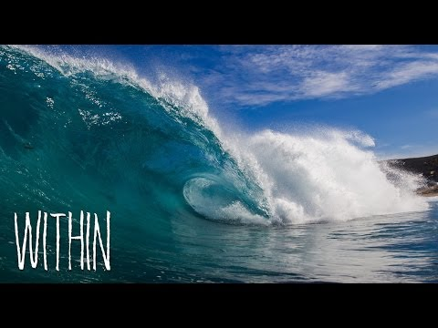 WITHIN - Breathtaking slow motion waves (narrator Guy Pearce)