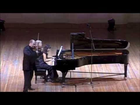 Franck: Sonata for Violin and Piano - 2nd Movement - Aizhana Nurkenova, Boris Brovtsyn