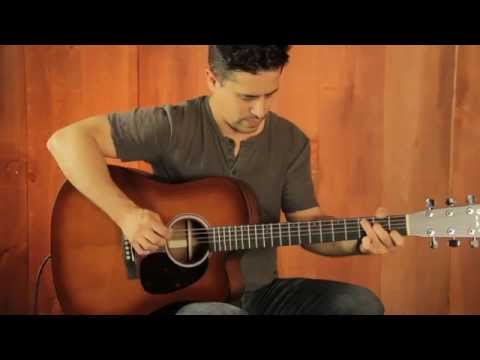 Martin Performing Artist Series DCPA4 Shaded Acoustic Guitar Demo