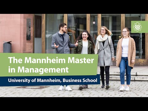 The Mannheim Master in Management Program
