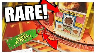 I Won RARE COINS From Whistle Stop!! (1913) || Arcade Games