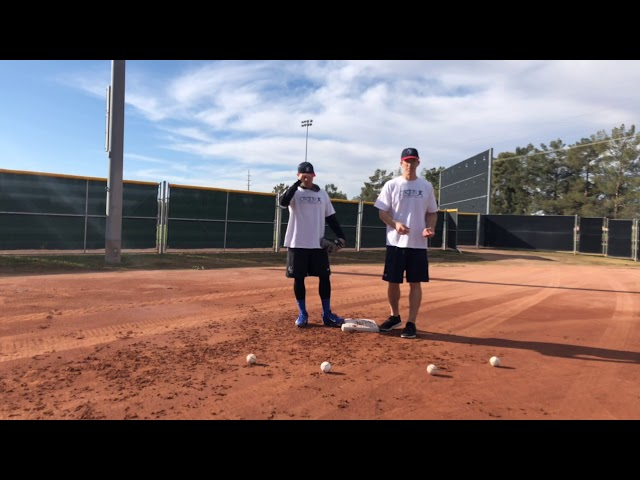 First Base Pick Drill