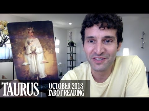 TAURUS October 2018 - Extended Monthly Intuitive Tarot Reading by Nicholas Ashbaugh