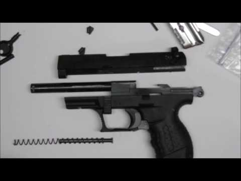 Walther PPQ Cleaning (Audio ONLY, No Talking (ASMR))