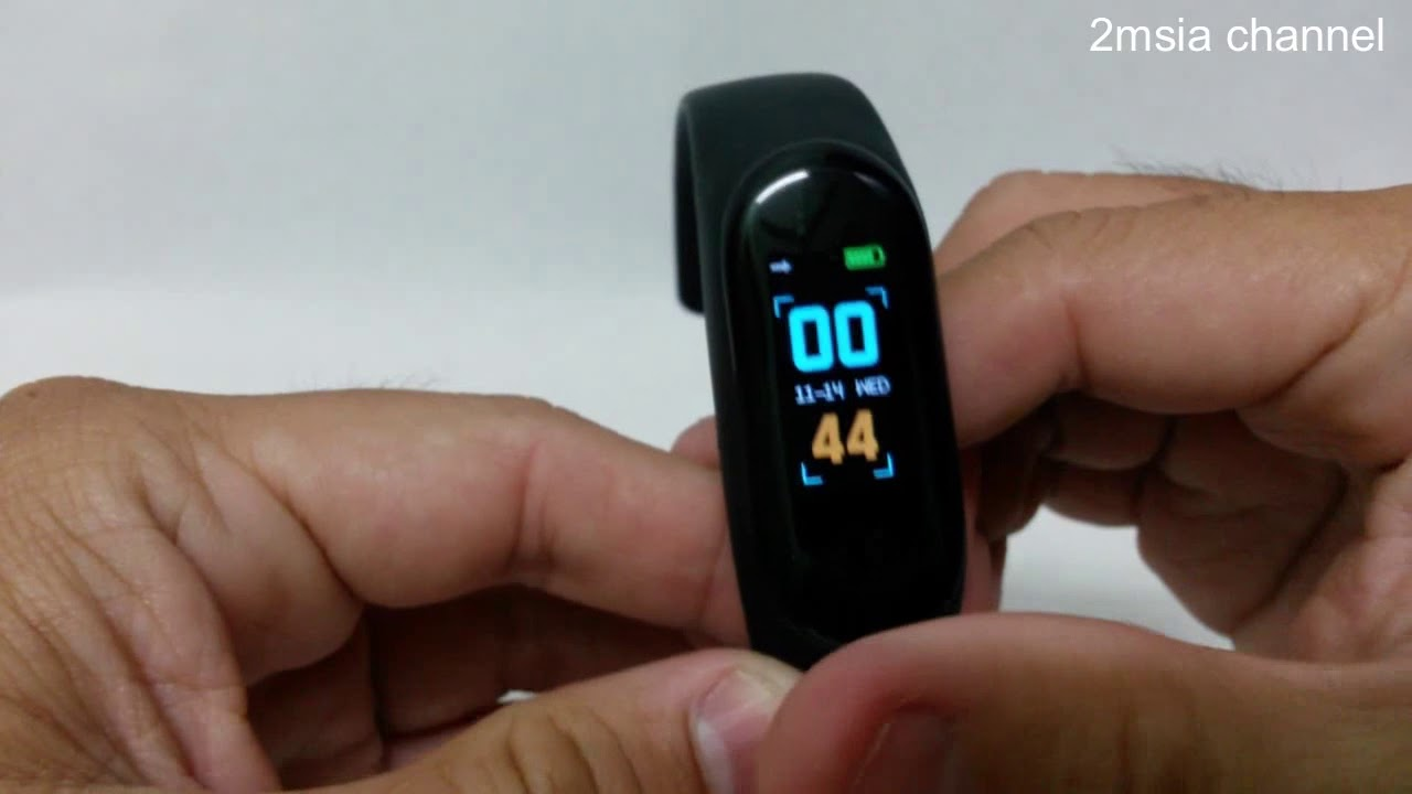 M3 Smart Watch Unboxing With Lefun Health App