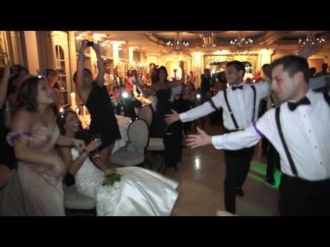 Stephen & Christina Wedding - Amazing Surprise Groomsmen Dance