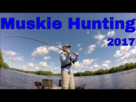 Hunting Muskie On The Saint John River Canada June 2017-Underwater Views