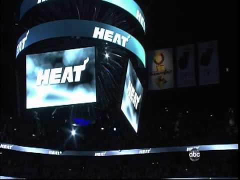 June 21, 2012- ABC -2012 NBA Finals Game 05 Miami Heat Vs. Thunder -Win  (04-01) - Player Intros