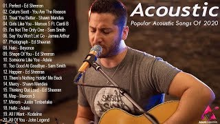 Acoustic 2020 ⚡️ The Best Acoustic Covers of Popular Songs 2020