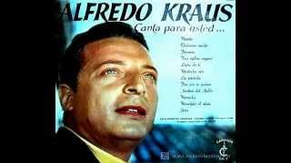 """ALFREDO KRAUS canta para usted..."". MAITECHU MÍA. Francisco Alonso."