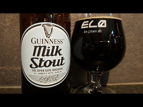 *New Release* Guinness Milk Stout | Irish Beer Review