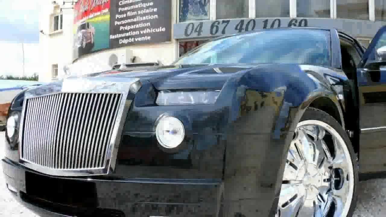 chrysler 300c body kit custom rolls royce phantom -cwc - youtube