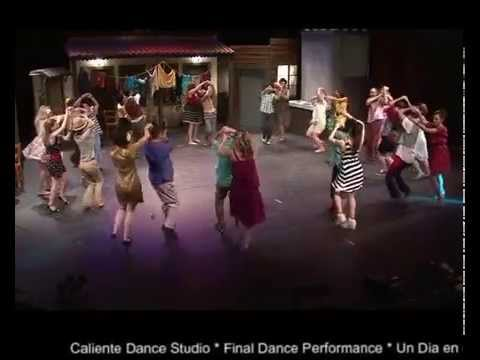 Final dance performance of Caliente Dance Studio, Cyprus, 19 June 2015