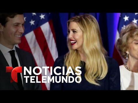 Ivanka Trump tendrá oficina propia en la Casa Blanca | Noticiero | Noticias Telemundo